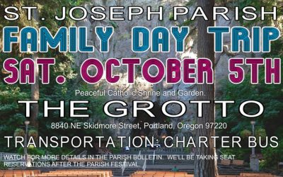 Family Day Trip To The Grotto