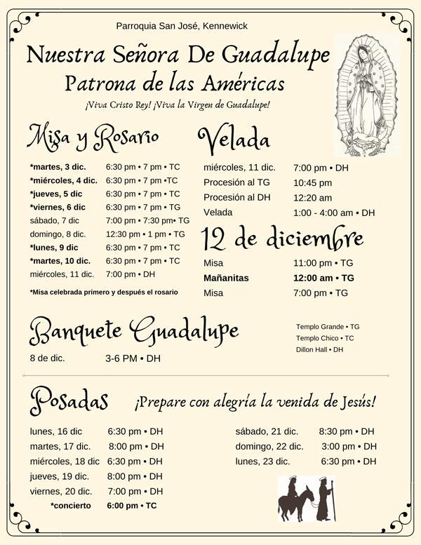 Nuestra Señora De Guadalupe Patrona de las Américas