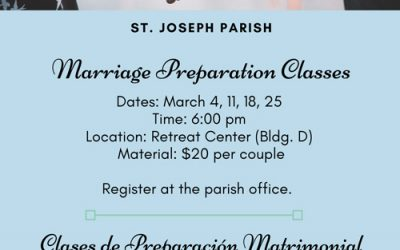 Marriage Preparation Classes