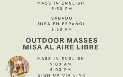 Outdoor Mass / Misa al Aire Libre
